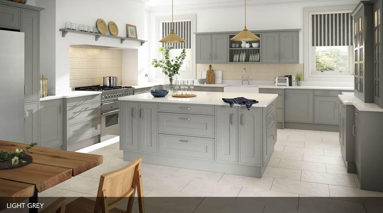 Edwardian Painted Kitchen