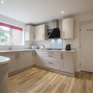 Small kitchen design hampshire