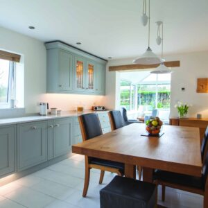 Light Grey Shaker Kitchen Design in Carter's Clay Hampshire