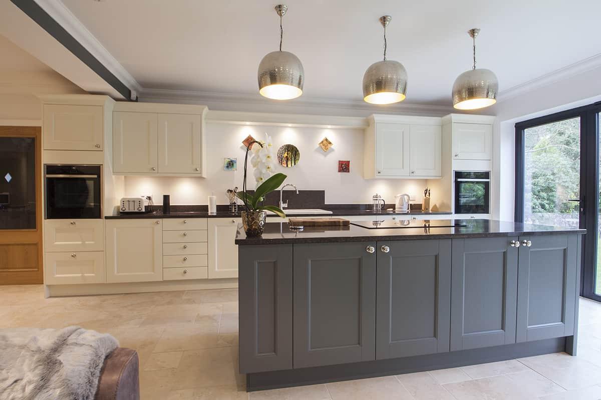 Custom Coloured Mackintosh Kitchen Design By Herbert William