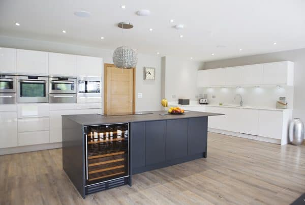 Modern Kitchen Design near Romsey