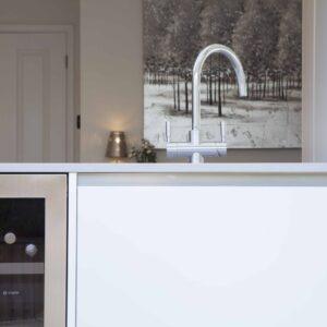 Mackintosh Linear Satin White PVC