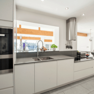 New Integral Kitchen for a Forever Home cooker hood