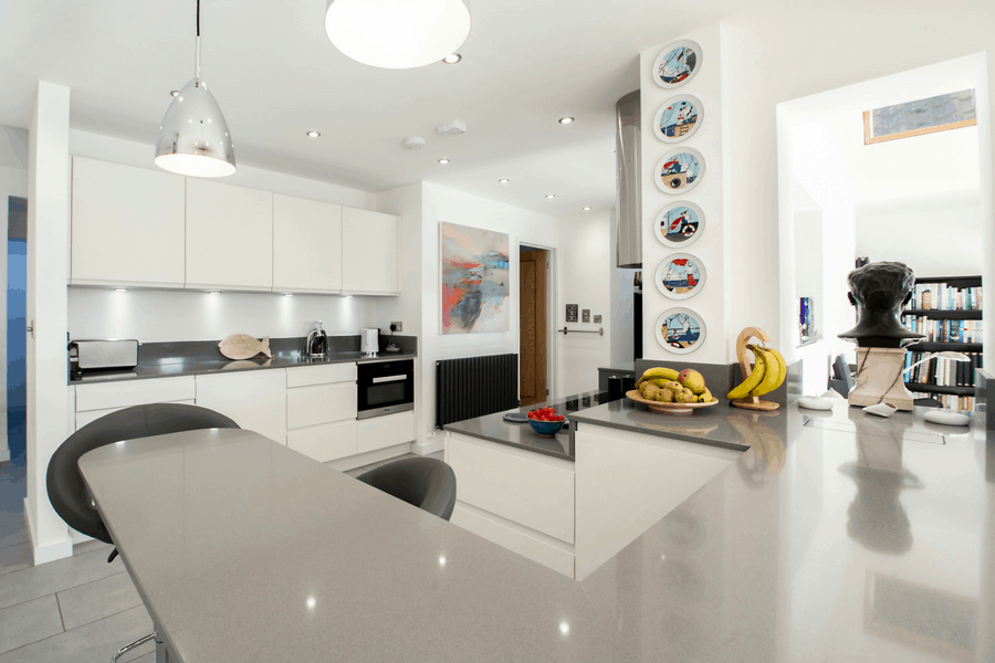 New Integral Kitchen for a Forever Home