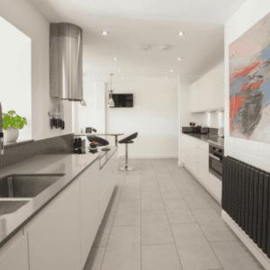 mackintosh white intergral kitchen