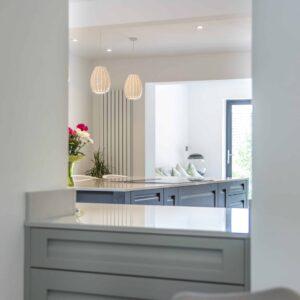 Smart Grey Kitchen design for Cook in Nursling