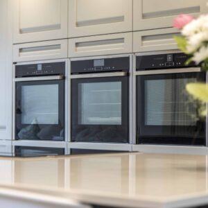 Smart Grey Kitchen design for Cook in Nursling by Herbert William
