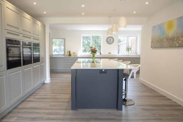 Smart Grey Kitchen in Nursling