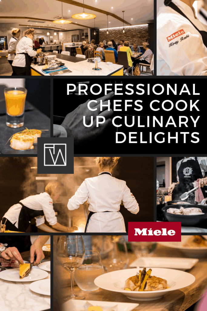 Professional chefs cook up culinary delights