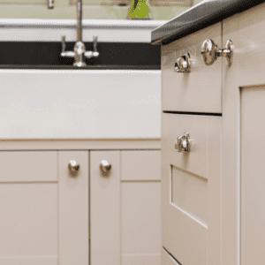 Hancrafted belfast sink by shaws of darwen