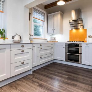 Luxury well designed family kitchen in Lymington