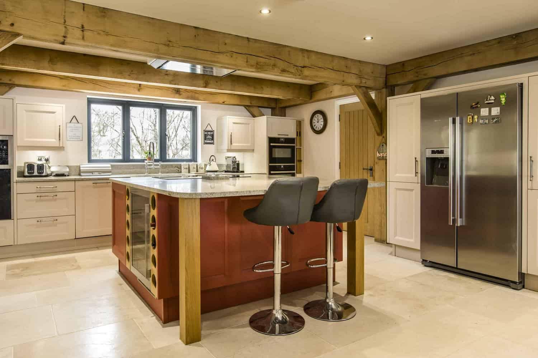 Traditional Bespoke Design for Kitchen in Farnham