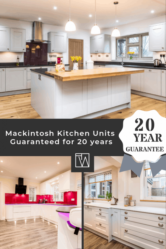 Mackintosh Kitchen units are now guaranteed for 20 years